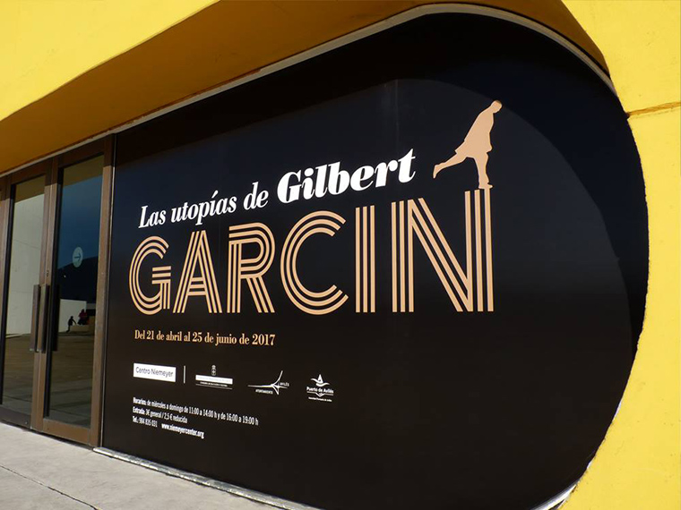 Las Utopías de Gilbert Garcin Centro Niemeyer