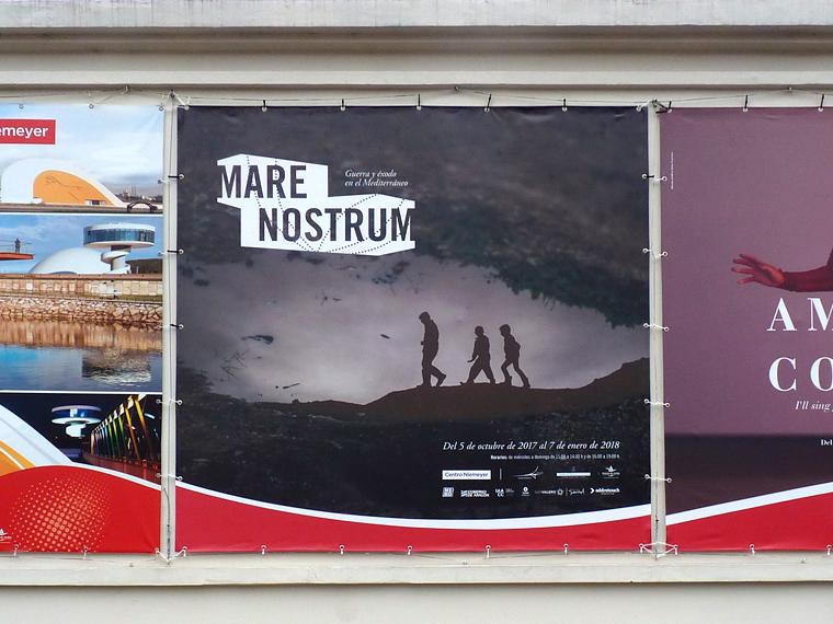 Mare Nostrum. Guerra y éxodo en el Mediterráneo Centro Niemeyer